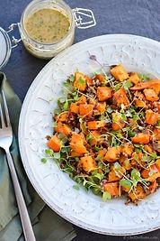 squash-microgreens-quinoa-salad-chefdeho