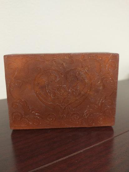 Chocolate Bar Luffa Soap 3.5oz