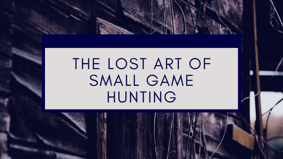 The Lost Art of Small Game Hunting