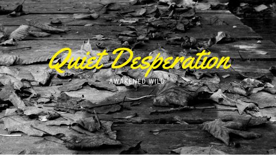 Quiet Desperation - Awakened Wild