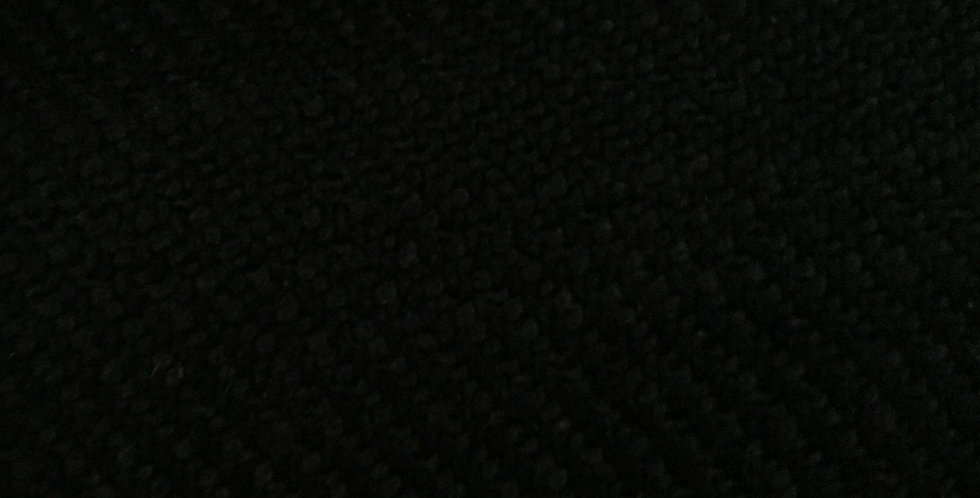 Solid Black - Woven Fabric