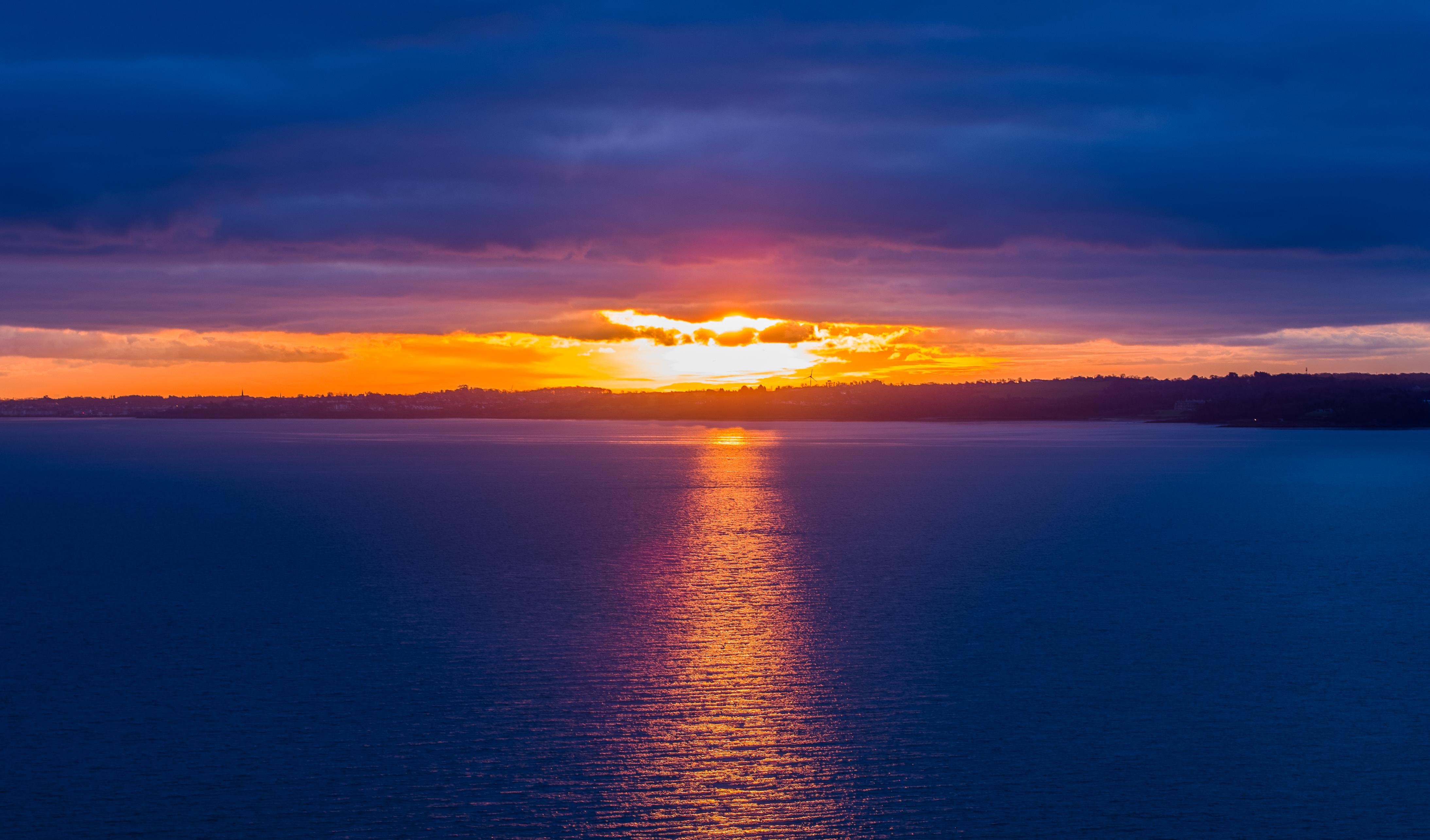 Belfast Lough Sunrise