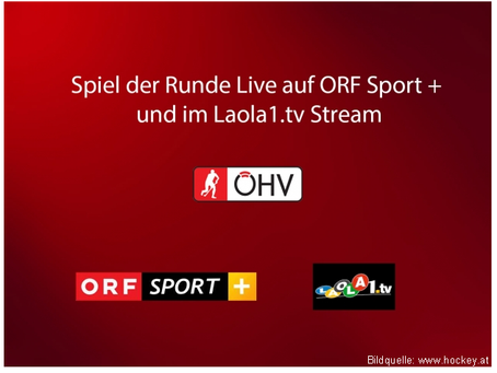 Bundesliga Hallenhockey - live auf Sport+ und Laolo1.tv