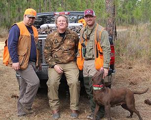 Benson's Kennel - Bird Hunting