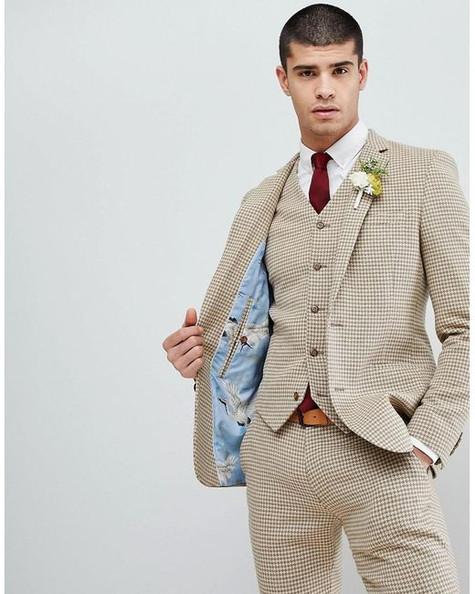 asos-beige-Wedding-Super-Skinny-Suit-Jac