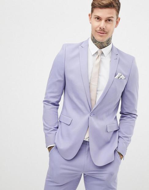 asos-purple-Skinny-Suit-Jacket-In-Lilac.