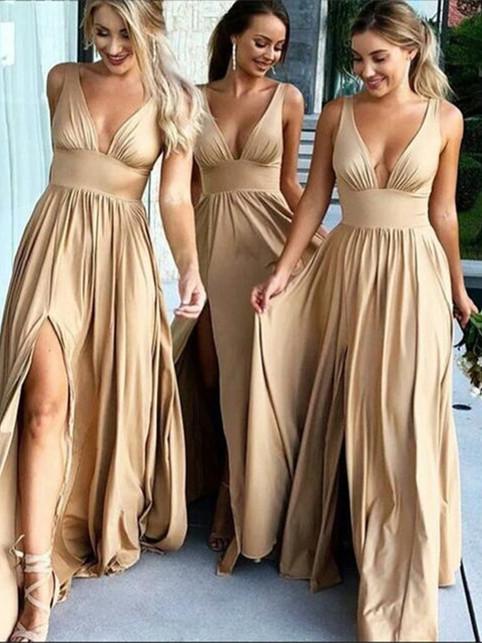 A_Line_V_Neck_Champagne_Prom_Dresses_wit