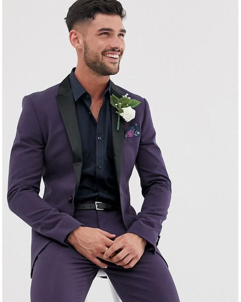 asos-purple-Wedding-Super-Skinny-Tuxedo-