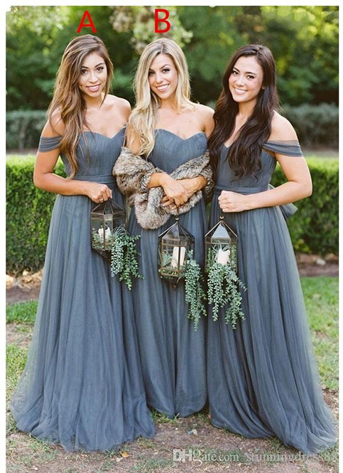 country-grey-bridesmaids-dresses-2019-of