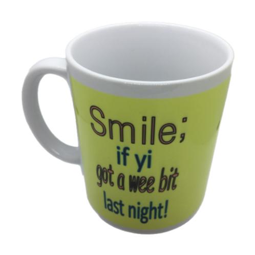 Smile if yi got a wee bit!