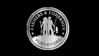 F&F Chrome Logo on Black (Transparent).p