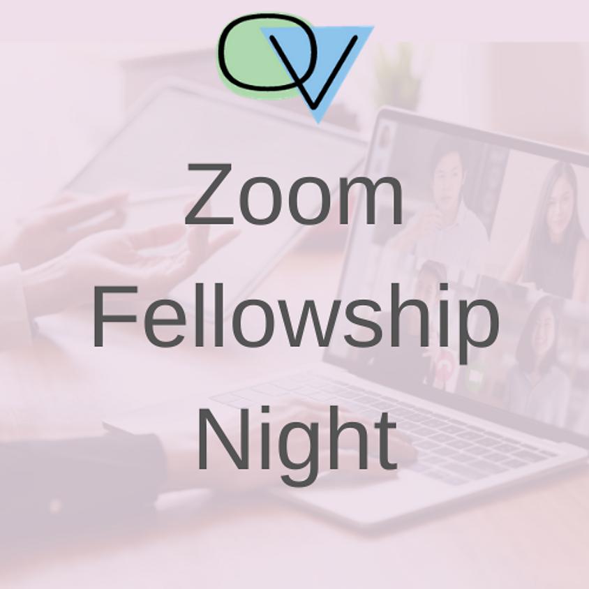 Zoom Fellowship Night