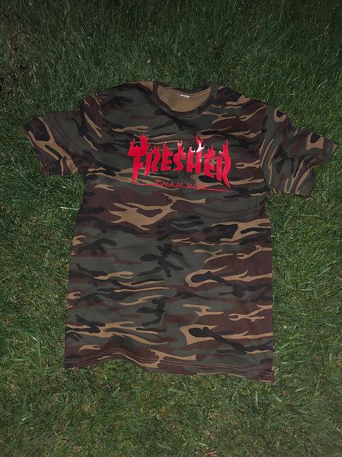 """Camo """"Fresher Than You"""" T-Shirt"""