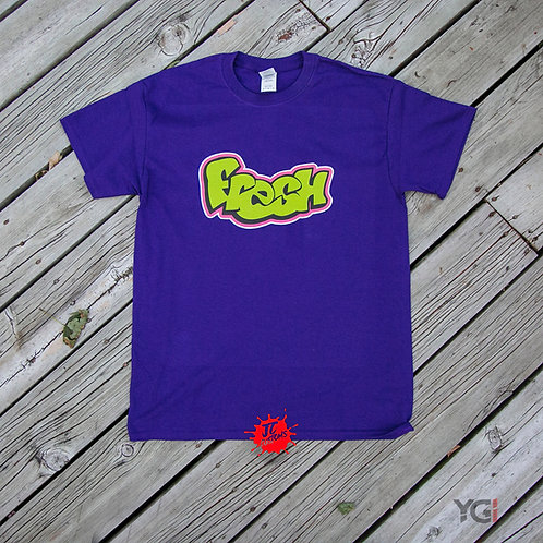 PURPLE FRESH T-SHIRT