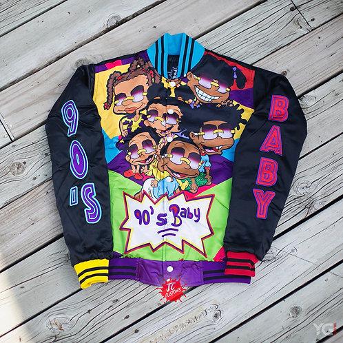 Black 90's Baby Bomber