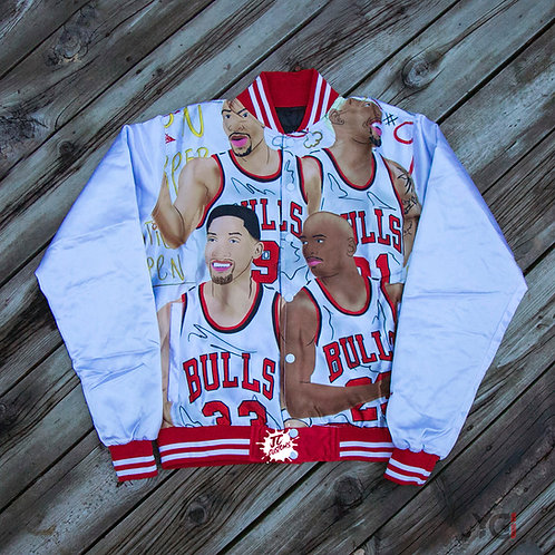 White Bulls Bomber