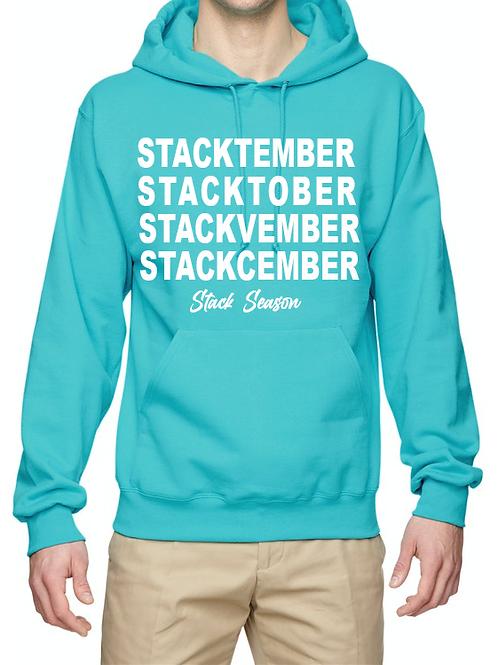 Aqua Chill Stack Season hoodie