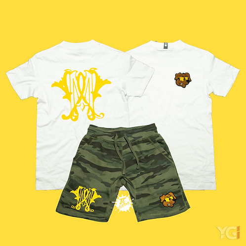 Maximum Wage Set Camo/Yellow Gold