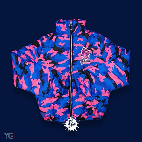Stack Season Blue/Pink camo jacket