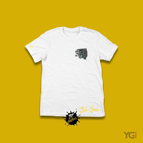 White/Yellow Stack Season T-Shirt