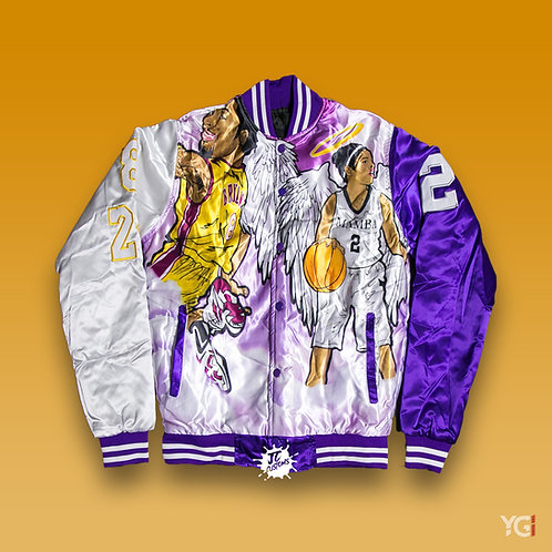 Purple Clouds Kobe Jacket