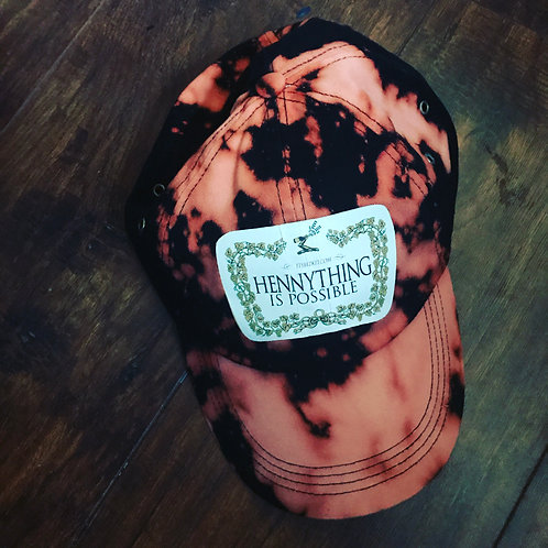 BLEACHED HENNY THING DAD HAT