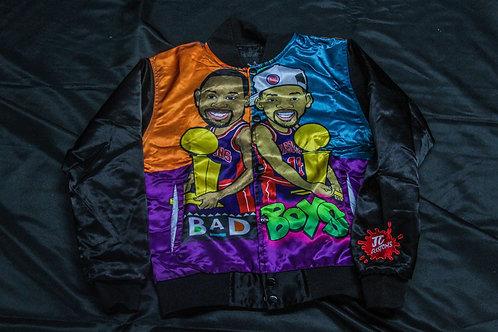 Youth Bad Boys Bomber orange/Aqua/Purple