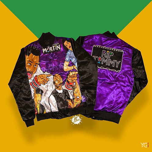 PURPLE RIP TOMMY BOMBER