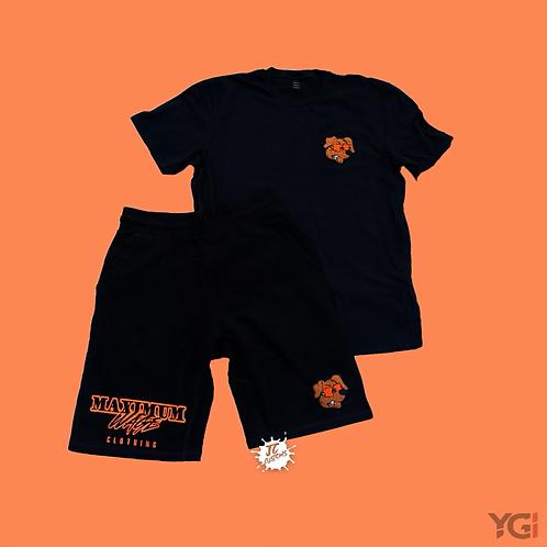 Black/Orange Men's Maximum Wage Set