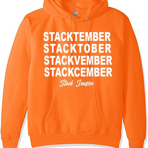 Orange Stack Season Hoodie