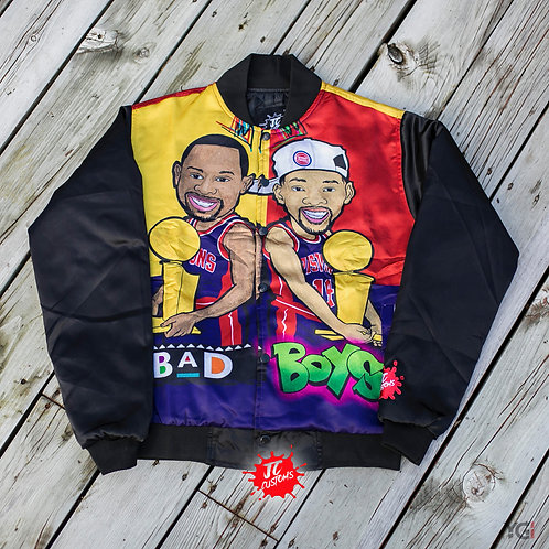 Bad Boy's Jacket Yellow/Red/Navy