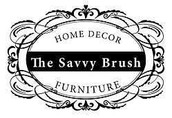 The Savvy Brush logo