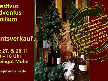 Festivus Adventus initum- gemeinsam in den Advent. Ein wunderbarer Adventsverkauf