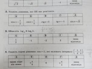 Білет ЗНО №38