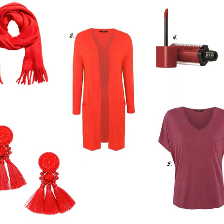 Five Fave Fashion Finds: The Red Edition