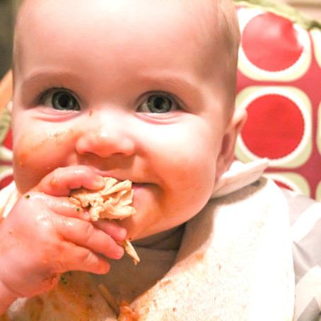 Weaning Diary: Eight Months Old