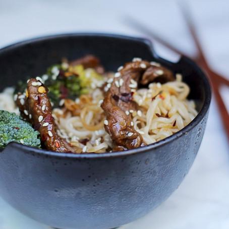 Beef & Broccoli Ramen Noodles Recipe