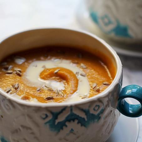 Pumpkin & Butternut Squash Soup Recipe