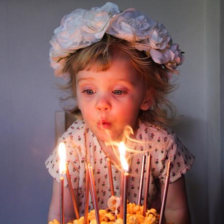 Rosalind's 2nd Birthday