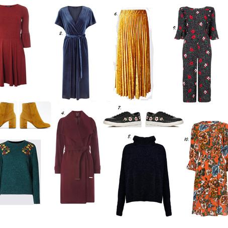 Ten Autumn Fashion Buys