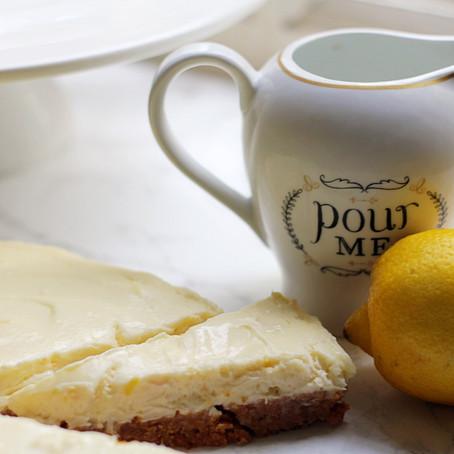 Lemon & Ginger Cheesecake Recipe