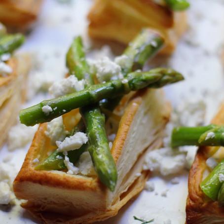 Feta & Asparagus Puff Parcels Recipe