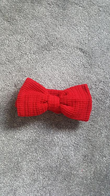 Red Large Bow Headband