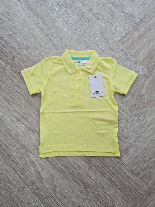 Neon Yellow Summer Polo T-shirt