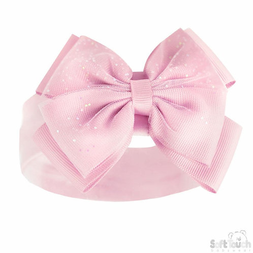 Glitter Bow Headbands