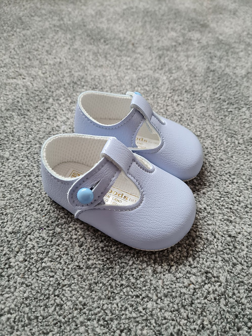 Baby Blue Baypods Soft Sole Shoes