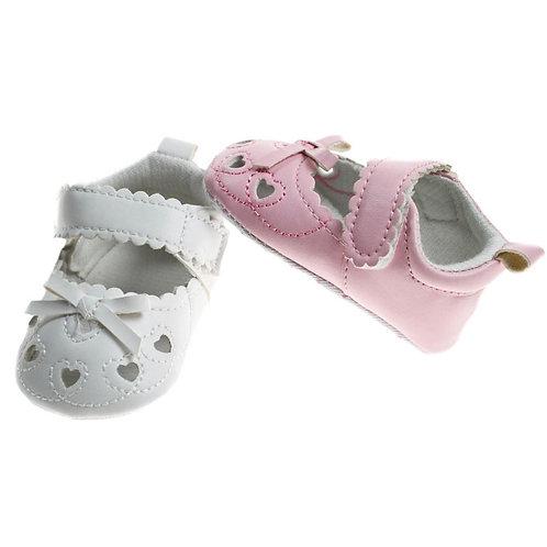 Heart Shaped Soft Sole Velcro Shoes