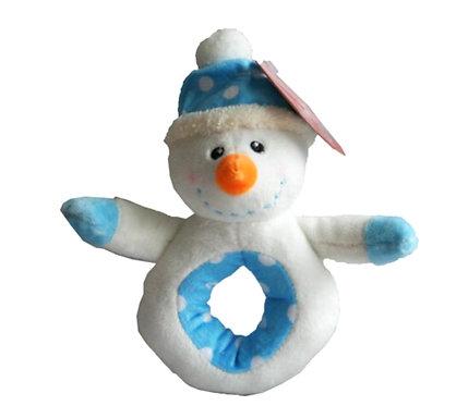 Christmas Snowman Rattle