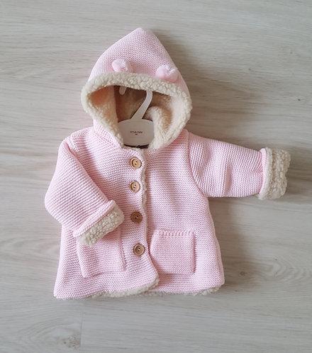 Chunky Knitted Teddy Cardigan