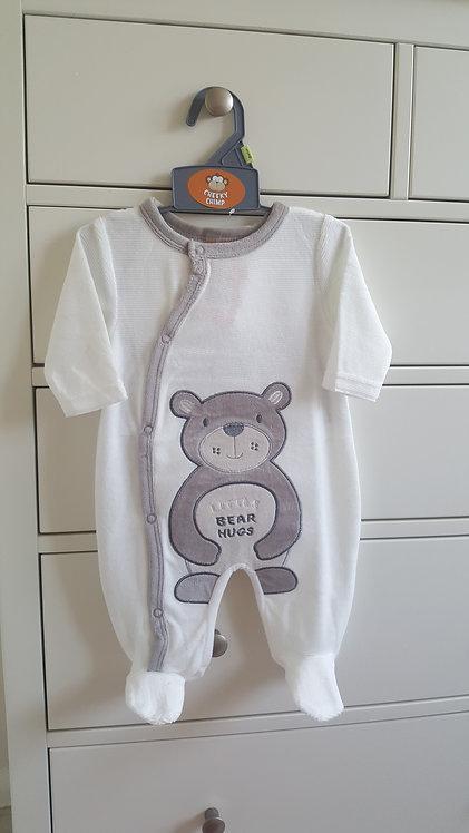 Unisex Teddy Bear Sleepsuit